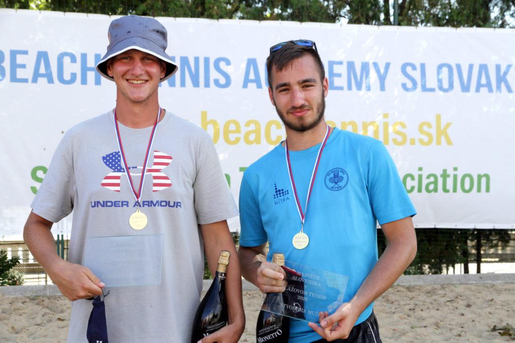 Majstrovstvá Slovenska 2020 Plažový Tenis
