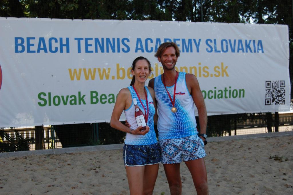 Majstrovstvá Slovenska 2020 Plažový Tenis Katarína Páleníková Alexander Rozin